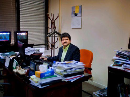 Pakistani journalist Hamid Mir (AP/Anjum Naveed, File)