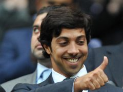 Manchester City owner Sheikh Mansour is to pay the travel costs of fans attending the Champions League final (Martin Rickett/PA)
