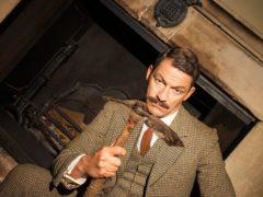 Dominic West as Uncle Matthew (BBC Studios/Steve Schofield/PA)