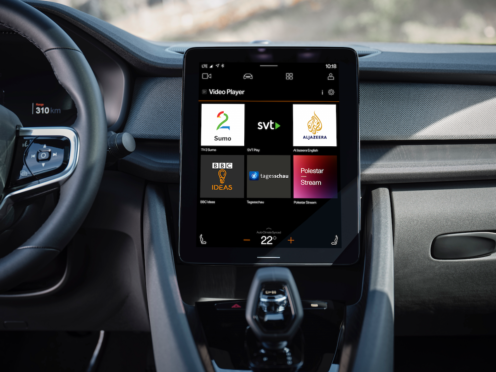 All manner of streaming services can go directly to the car's screen