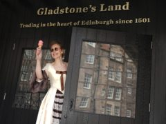 Gladstone's Land in Edinburgh is reopening on May 21 (National Trust for Scotland/PA)