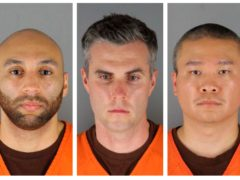 Former Minneapolis police officers charged in George Floyd's death (Hennepin County Sheriff's Office via AP File)