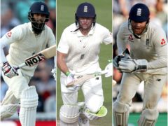 Moeen Ali, Jos Buttler and Jonny Bairstow, l-r, could be rested after IPL comitments and quarantine (John Walton/Alastair Grant/PA)