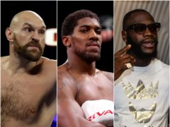 Tyson Fury may have to face Deontay Wilder for a third time (Isaac Brekken/Nick Potts/Steven Paston/PA)