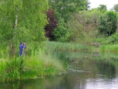 The blue prescribing scheme aims to improve mental health through access to 'watery' nature (WWT/PA)