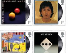 Royal Mail issue new stamps in tribute to Paul McCartney (Royal Mail/PA)