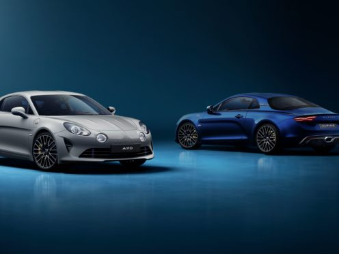 The Legende GT boasts more power than the standard A110