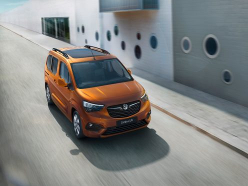 The Combo e-Life has an electric range of up to 174 miles
