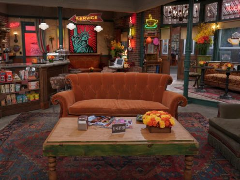 The Friends reunion special brought the cast back to the show's famed set (Terence Patrick/HBO Max/PA)