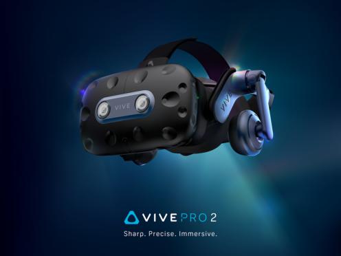 The new HTC Vive Pro 2 virtual reality headset (HTC Vive)