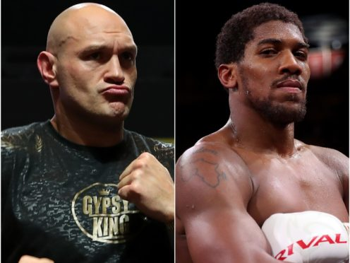 Tyson Fury's fight against Anthony Joshua is in doubt (PA).