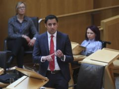Scottish Labour leader Anas Sarwar has announced his new shadow cabinet team (Fraser Bremner/Scottish Daily Mail/PA)