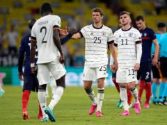 Germany need to win after losing to France (Matthias Schrader/AP)