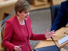 Nicola Sturgeon was challenge to 'do the right thing' and ensure no pupil loses out if they appeal their grades. (Jeff J Mitchell/PA)
