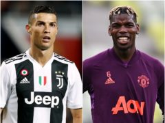 Cristiano Ronaldo/ Paul Pogba (Martin Rickett/ Rafal Oleksiewicz/PA)
