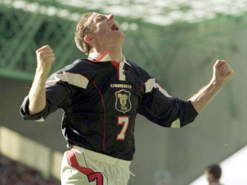 Former Scotland striker Kevin Gallacher hopes England are in for a slip up against Steve Clarke's team (Owen Humphreys/PA)