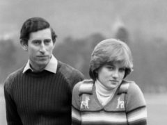 Charles and Diana before their wedding (PA)