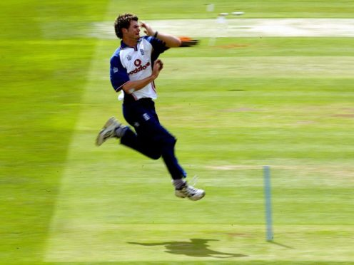 England bowler James Anderson made his Test debut against Zimbabwe at Lord's in 2003 (David Davies/PA)