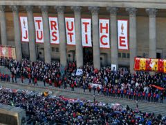 The director of public prosecutions has said he is sorry Hillsborough families have not had justice through the criminal courts (Peter Byrne/PA)