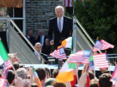 Ireland is close to Joe Biden's heart (Niall Carson/PA)