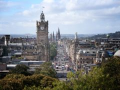 The LEZ will affect vehicles in central Edinburgh (Jane Barlow/PA)