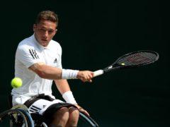 Alfie Hewett's wheelchair tennis future is uncertain (John Walton/PA)