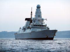 HMS Defender (LPhot Louise George/MoD/PA)