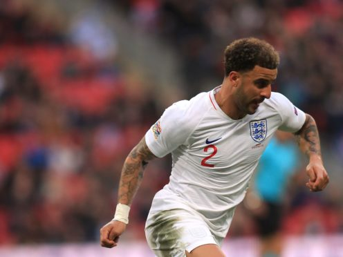 Kyle Walker continues to be one of the fastest players in the England squad (Mike Egerton/PA)