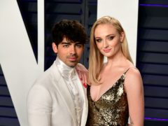 Sophie Turner and Joe Jonas celebrated their second wedding anniversary by sharing new pictures of their big day (Ian West/PA)