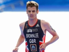 Jonny Brownlee will head to Tokyo in top form (Martin Rickett/PA).