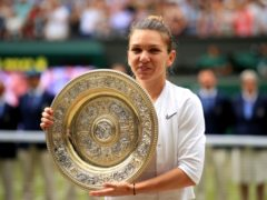 Simona Halep will be unable to defend her Wimbledon title (Adam Davy/PA)
