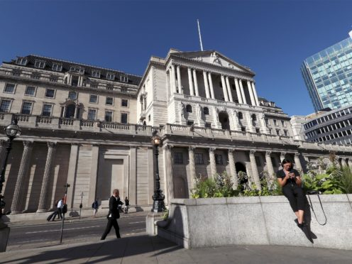The former boss of the UK's competition watchdog has called for a parliamentary group to scrutinise the Bank of England amid concerns over threats to its independence (Yui Mok/PA)