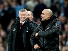 The fixture list has thrown up different degrees of difficulty for Manchester United and Manchester City (Martin Rickett/PA)
