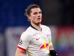 RB Leipzig's Marcel Sabitzer has been linked with a move to Tottenham (John Walton/PA)