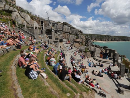The Minack Theatre in Porthcurno near Lands End (David Davies/PA)