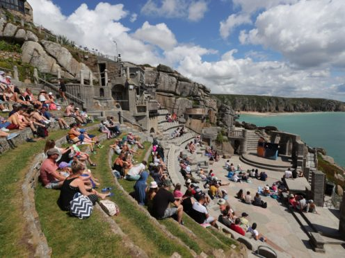 Minack Theatre (David Davies/PA)