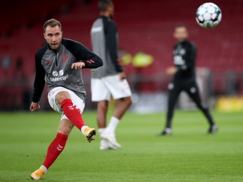 Denmark's Christian Eriksen may not play football professionally again, a doctor said (Nick Potts/PA)