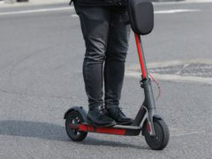 The e-scooter theft took place in the early hours of Friday (Luciana Guerra/PA)