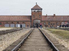 The train tracks at Birkenau, Auschwitz (Dave Thompson/PA)
