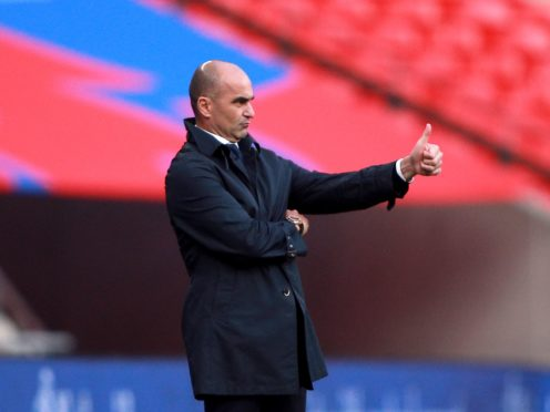 Belgium manager Roberto Martinez has backed his players to handle the expectation on their shoulders at the Euro 2020 finals (Ian Walton/PA)