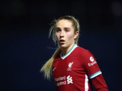 Liverpool midfielder Missy Bo Kearns has signed a new contract with the club (Tim Goode/PA)