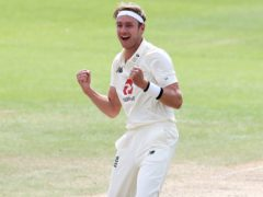 England's Stuart Broad (Martin Rickett/PA)