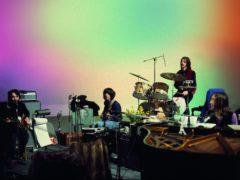 Paul McCartney, George Harrison, Ringo Starr and John Lennon in The Beatles: Get Back (Linda McCartney/2020 Apple Corps Ltd/PA)