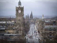 Edinburgh was the most attractive city outside of London for foreign direct investment, according to the latest EY survey (Jane Barlow/PA)