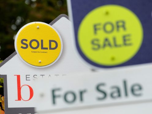 First-time buyers are around half as likely to have had opportunities to save more money for a deposit during lockdown as home movers generally, according to Santander (PA)