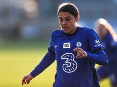 Chelsea's Sam Kerr was the WSL top scorer with 21 goals (Kieran Cleeves/PA)
