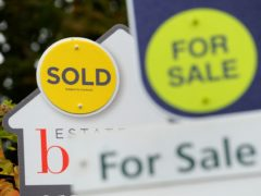 The total value of mortgage advances in the first quarter of 2021 was £83.3 billion (Andrew Matthews/PA)