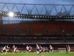 Empty stadia hit Premier League revenues (Julian Finney/PA)