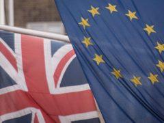 The EU and Union flags (Stefan Rousseau/PA)