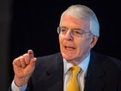 Sir John Major has said Boris Johnson should honour his commitment to spend 0.7% of national income on foreign aid (Dominic Lipinski/PA)